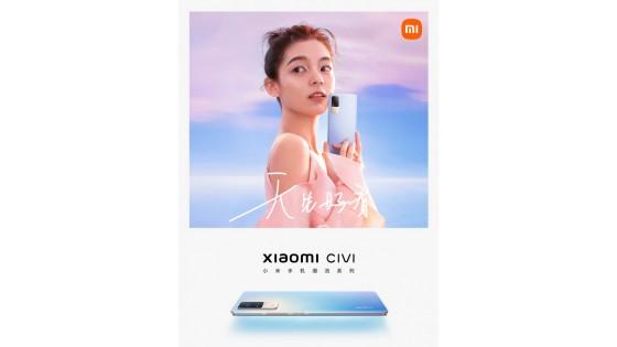 Xiaomi Civi -də ilk rəsmi fotoları və video